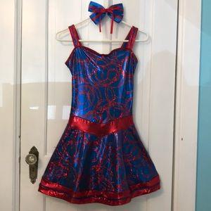 Disney World parade dance dress